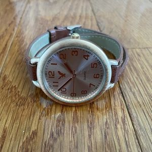 American Eagle Double-Strap Watch